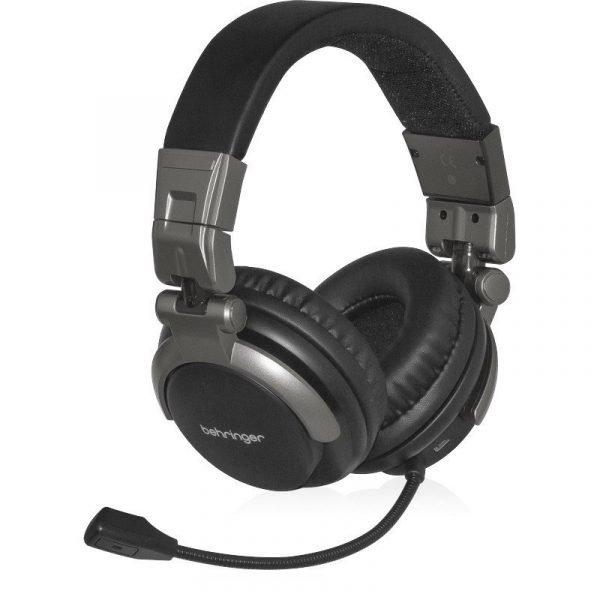 אוזניות מקצועיות באיכות גבוהה עם מיקרופון מובנה