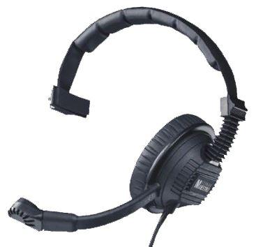 מערכת ראש (אוזניה בודדת + מיקרופון) איכותית, מאסיבית ומקצועית