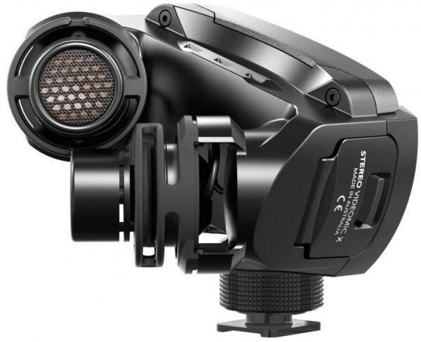מיקרופון סטריאופוני מקצועי למצלמות