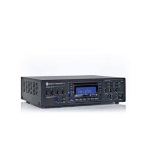 מיקסר-מגבר 3 אזורים ונגן מוזיקה CD/USB