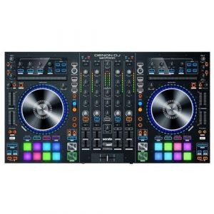 קונטרולר DJ מקצועי 4 ערוצים ל-Serato עם 2 כרטיסי קול מובנים מבית Denon DJ