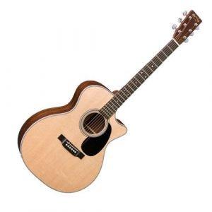 גיטרה אקוסטית מוגברת + ארגז MARTIN GPC28E