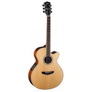 גיטרה אקוסטית מוגברת CORT PW370M