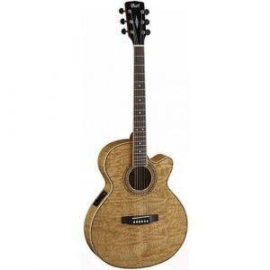 גיטרה אקוסטית מוגברת CORT SFX AB ASH BURL