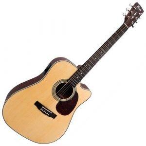 גיטרה אקןסטית מוגברת CORT MR500E OP CUTWAY
