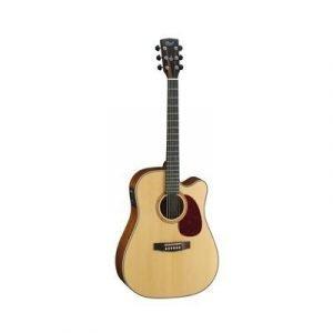 גיטרה אק'+מוגברת מהגוני CORT MR710F NS