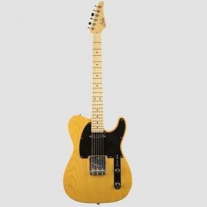 גיטרה SUHR Classic T Pro Trans Butterscotch Swamp Ash Tinted Maple פינגרבורד SS SSCII