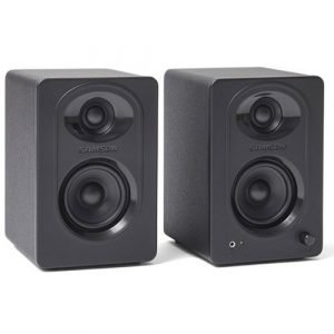 זוג מוניטורים לאולפן SAMSON MediaOne M30 Powered Studio Monitor