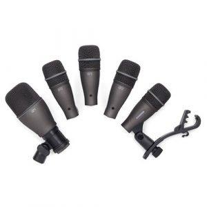 סט 5 מיקרופונים לתופים SAMSON DK705 5 PC Drum Mic Kit w/קייס