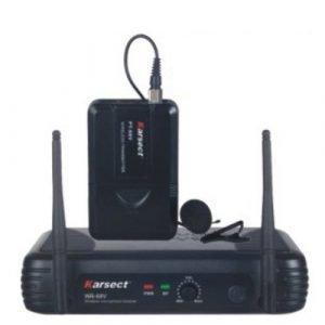 מקרופון אלחוטי מדונה KRSECT WR-68V/PT218/HT9A VHF Karsect