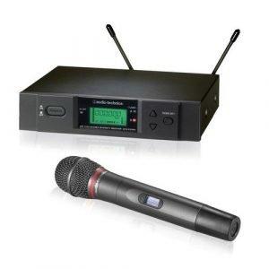 סט אלחוטי ידני AUDIO TECHNICA ATW-3141B Audio Tchnica