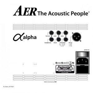 מגבר לגיטרה אקוסטית AER ALPHA 40W