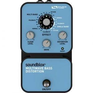 מולטי דיסטורשן לבס Soundblox Multiwave Bass Distortion Source Audio