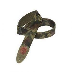 רצועה לגיטרה צבע צבאי MSSC8CAM LEVY'S