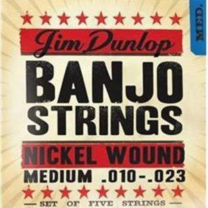 סט מיתרים לבנג'ו DUNLOP DJN01023 MED