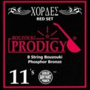 סט מיתרים לבוזוקי Prodigy RED Phosphor Bronze Wound 0.11