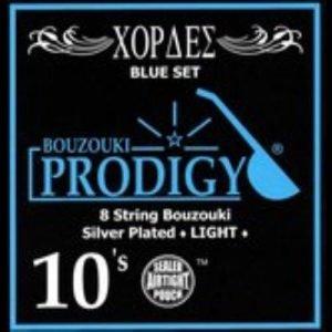 סט מיתרים לבוזוקי Prodigy BLUE Silver Plated Wound 0.10