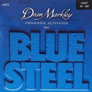 סט 4 מיתרים לגיטרה בס Dean Markley 2670 Blue Steel Bass 40-95