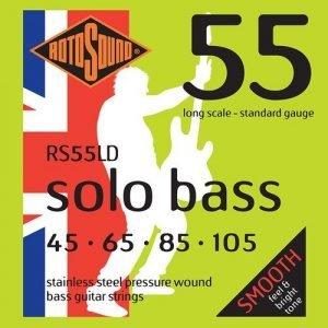 סט מיתרים 0.45 לבס ROTOSOUND SOLO BASS RS55LD
