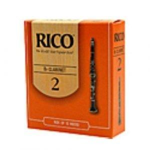 25 עלים לקלרינט ריקו מספר 1.5 Rico