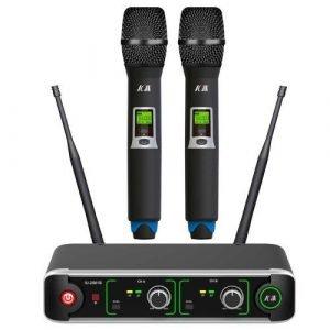 זוג מיקרופונים אלחוטיים UHF