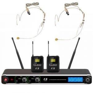 זוג מיקרופונים UHF מדונה