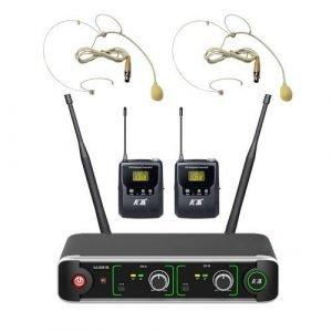 זוג מיקרופונים מדונה UHF PLL