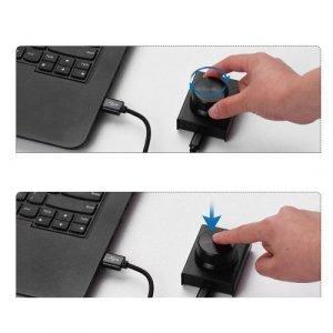 כפתור שליטה ווליום USB