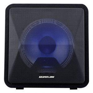 בידורית + מיקרופון אלחוטי SILVER LINE 6.5″ SLKB24 שחור